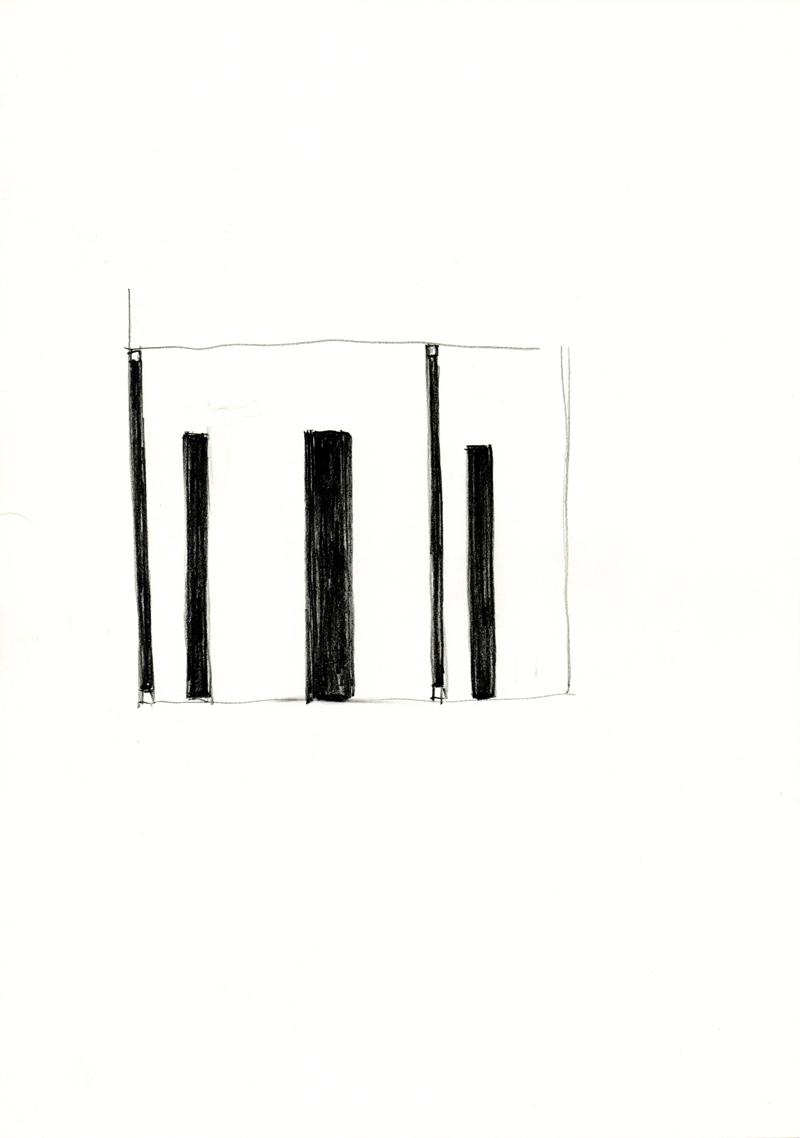 2023 , 2000-2013, pastel on paper, 21 x 29,7 cm