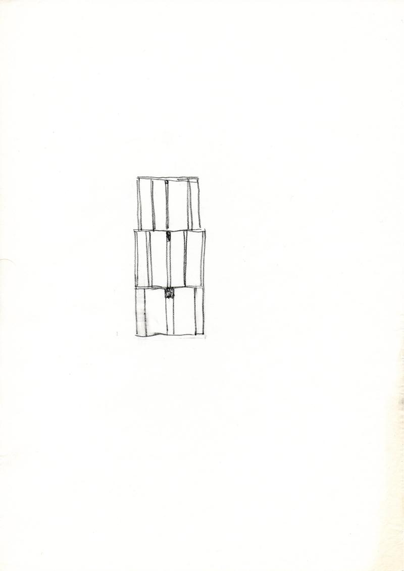 1262 , 1980-1999, pastel on paper, 21 x 29,7 cm
