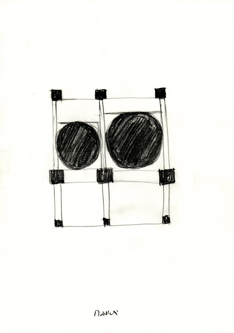 2044 , 2000-2013, pastel on paper, 21 x 29,7 cm