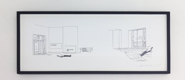 The Red House  , computer collage (1999), printed on paper, 2016, 21x58cm (unframed), edition of 10