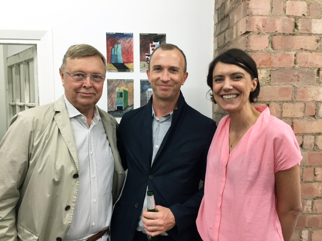 Lars Lerup, Tom Weaver and Marie Coulon
