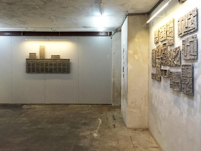 Basement exhibition view