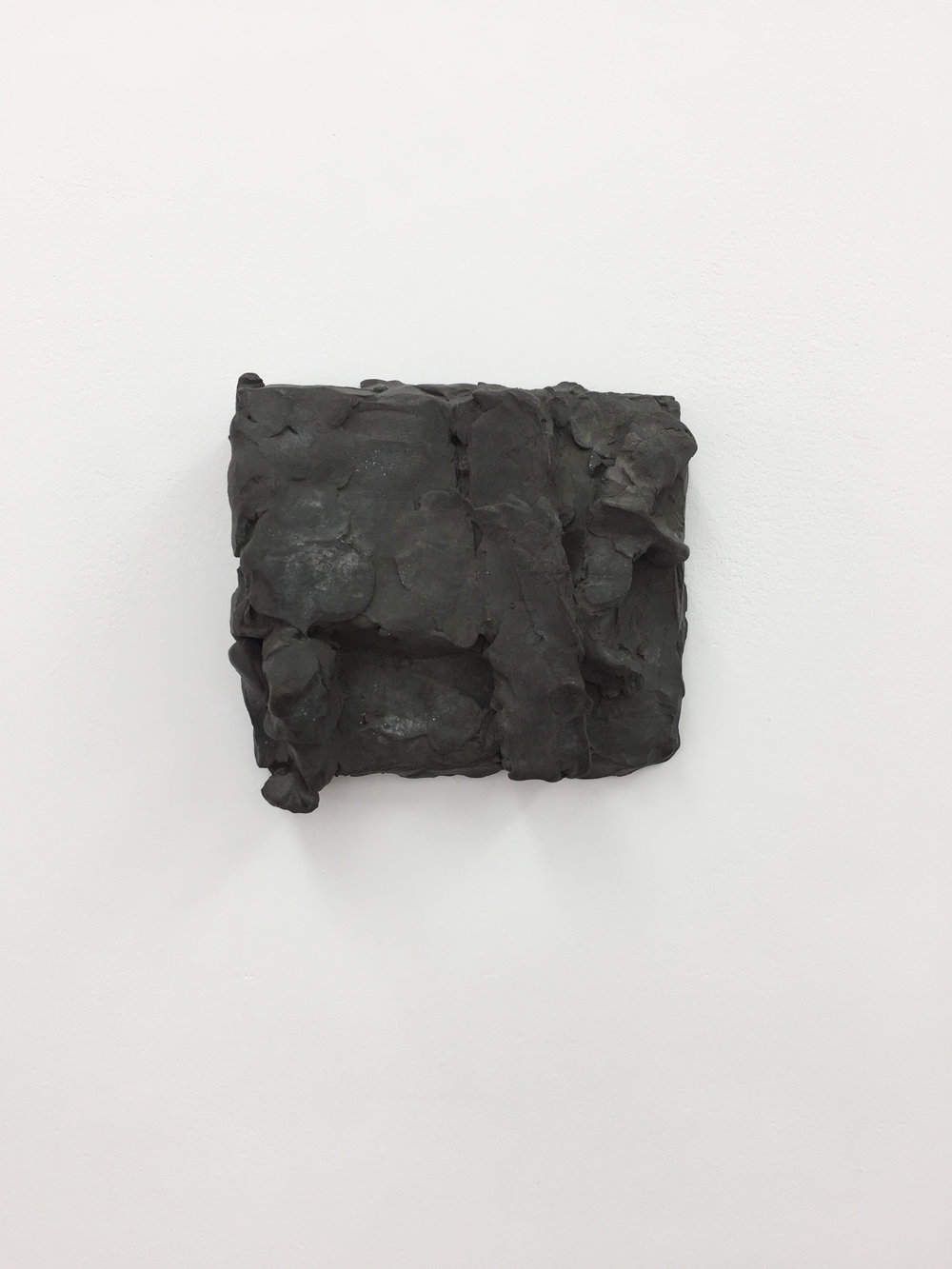 Hans Josephsohn, Untitled, 1997, Relief sketch, Brass, 13 x 14 x 6 cm
