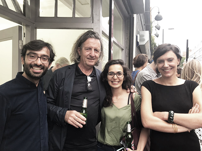 Ahmed, Richard Goodwin, Samaneh Moafi and Marie Coulon