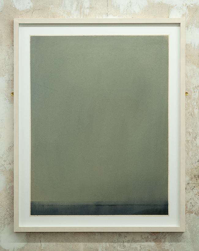 Untitled , 2009, dry pastel on paper, 65 x 50 cm (unframed), 75.5 x 61 cm (framed)