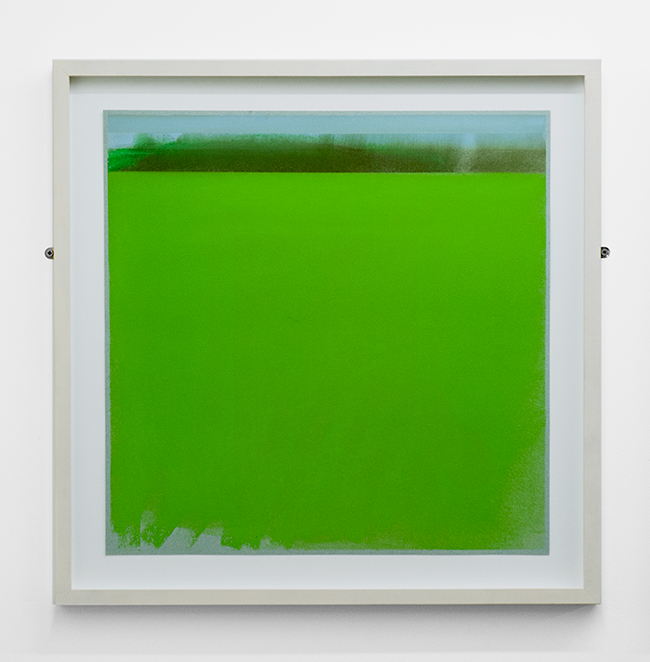 Untitled , 2012, dry pastel on paper, 50 x 50 cm (unframed), 61 x 61 cm (framed)