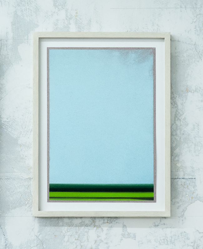 Untitled , 2017, dry pastel on paper, 29.7x 21 cm (unframed), 35.3 x 26.5 cm (framed)