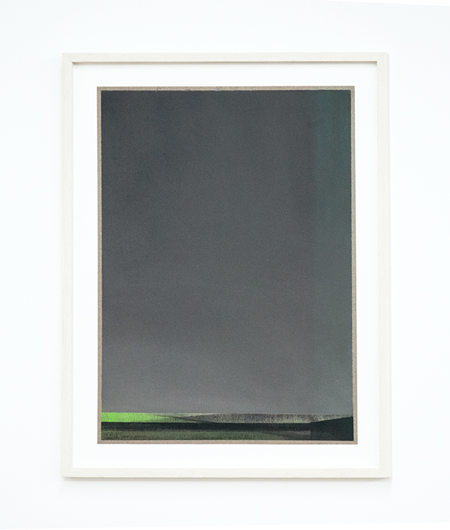 Untitled , 2017, dry pastel on paper, 42 x 29.7 cm (unframed), 49.5 x 37 cm (framed)