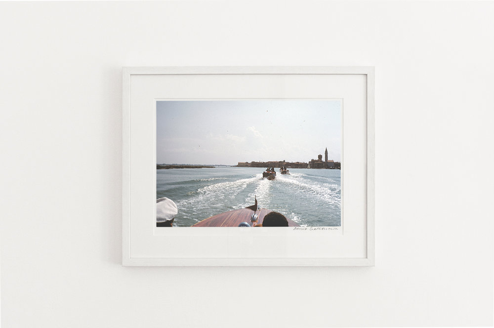 Lagoon, Venice , 1956. Giclée pigment on Hahnemuhle archivalpaper, 45.5 x 30.3 cm (framed), Edition of 10