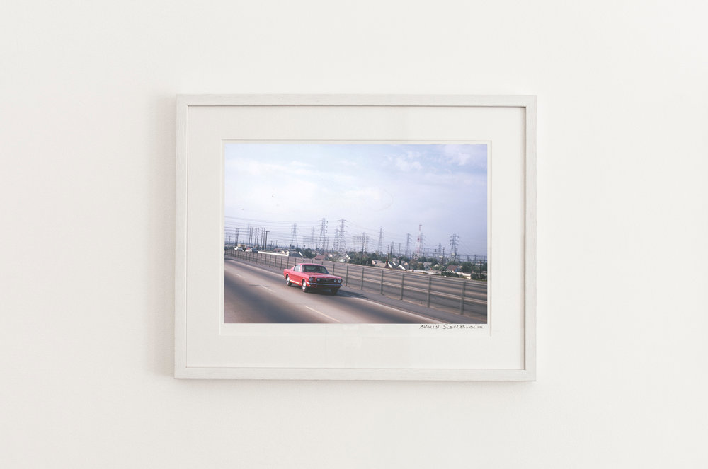 Industrial Romanticism, Los Angeles , 1966. Giclée pigment on Hahnemuhle archivalpaper, 45.5 x 30.3 cm (framed), Edition of 10