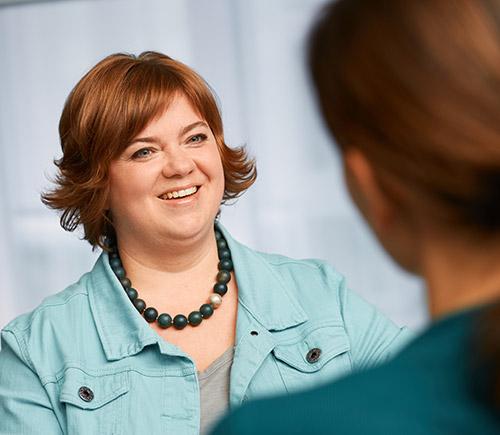Ulrike Behl im Coaching
