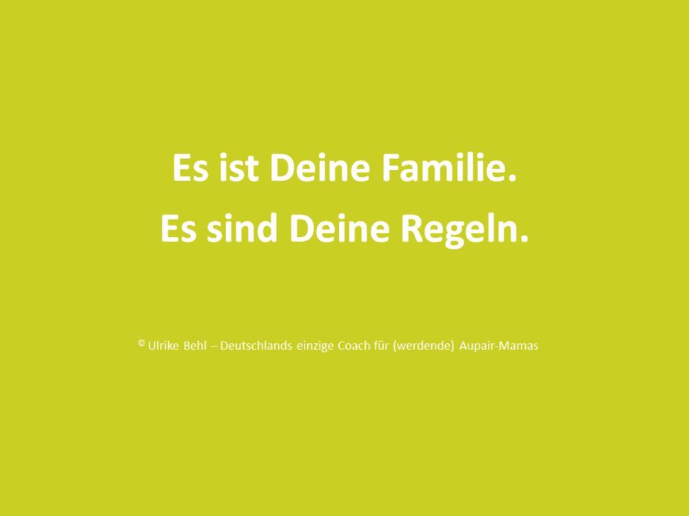 Deine Familie - Deine Regeln BEHL ! COACHING