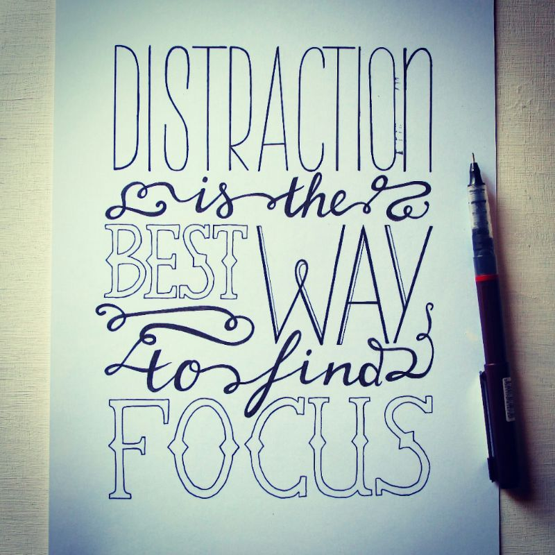 Beautiful hand lettering from Linda, and it is true!