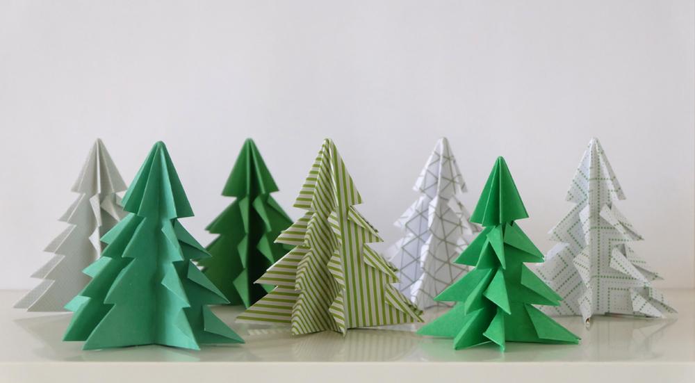 Diy Paper Christmas Tree No Ordinary Tales