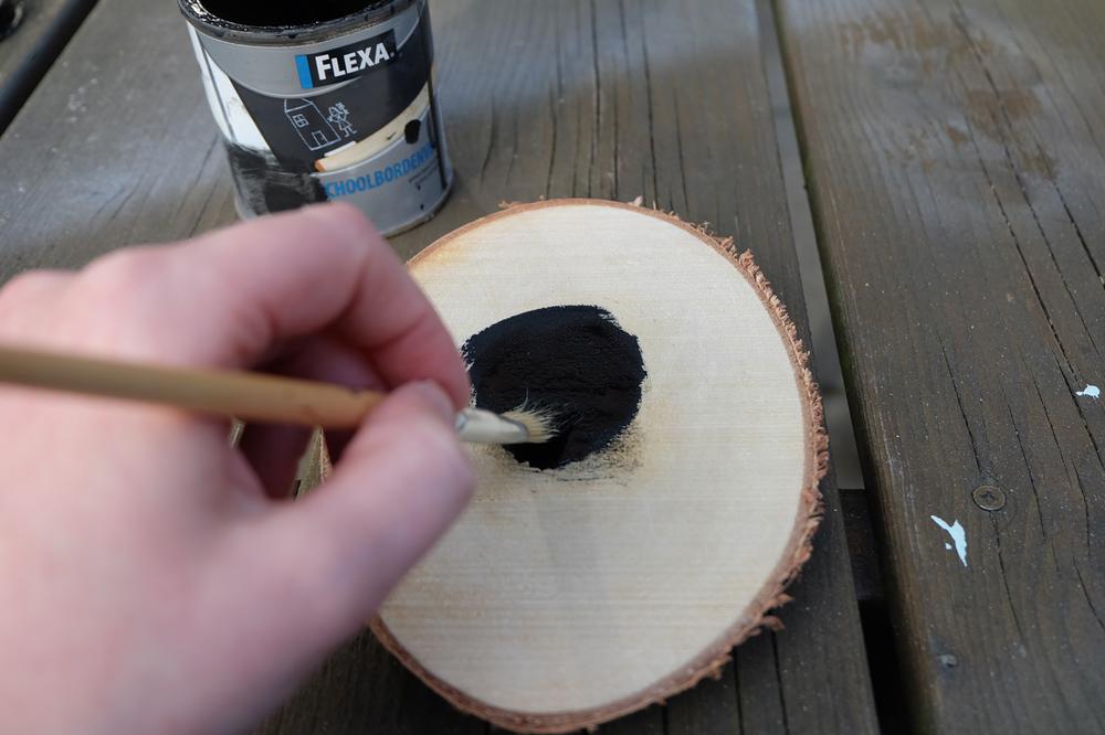 DIY: Krijtbord op hout — No Ordinary Tales