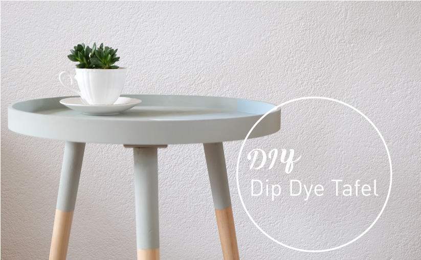 Diy Dip Dye Tafeltje No Ordinary Tales