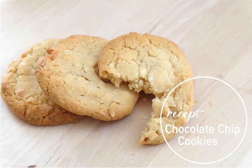 Heerlijke witte chocolade koekjes met macadamia noten