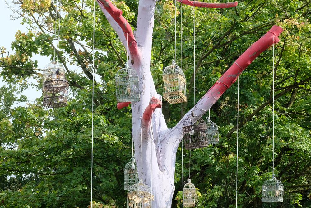 Een van de vele geweldige objecten op camping de Lievelinge.