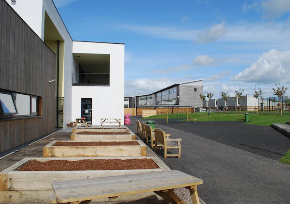 Lairdsland Primary School Detailed landscape design