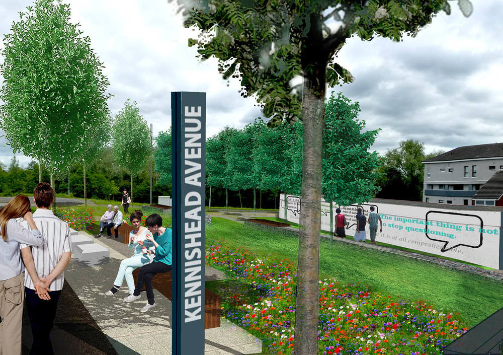 Kennishead, Glasgow Public space regeneration and Visualisations