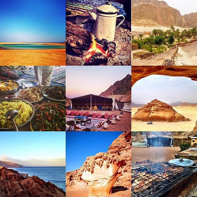 The #Bedouin Way would like to wish you a happy #Eid here in #Dahab. Please call Sofian on 01092 202837 for Bedouin #mountainfood, or #trips and #safaris across #SouthSinai.  Our Bedouin #BBQ is delicious. You'll have a wonderful evening under the #stars at a #mountain near Dahab.  Cost per person (including #music, #tea, #water and #cola plus transport to the mountain and back): #BBQChicken: 120 EGP #BBQBeef: 150 EGP Slow Cooked #Goat: 200 EGP #Vegetarian: 60 EGP  If you want to see the #desert, please call Sofian to talk about what you can do. We look forward to meeting you!  http://www.thebedouinway.com