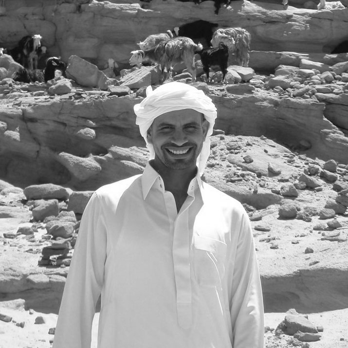 Nour is a Bedouin Guide and a Safari Driver. He is also a good musician!