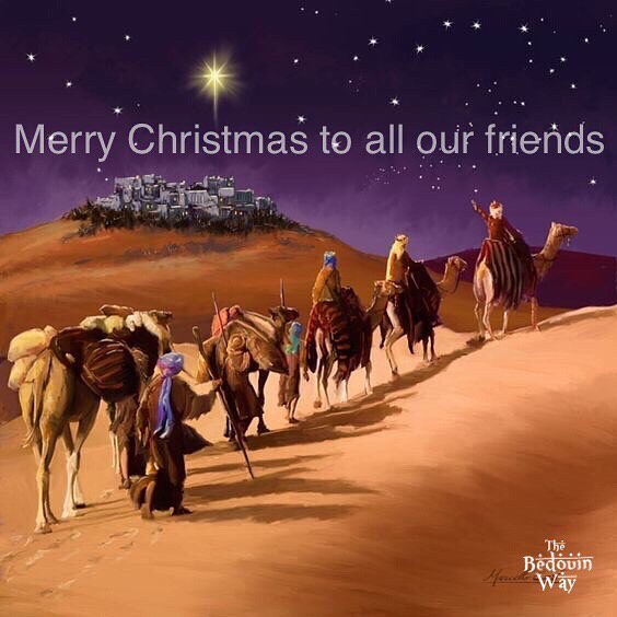 We wish you the best now and always. From everyone at The Bedouin Way, South Sinai, Egypt. . . . #christmas #christmas2017 #bedouin #dahab #southsinai #egypt #camel #threekings #threewisemen #christmaseve