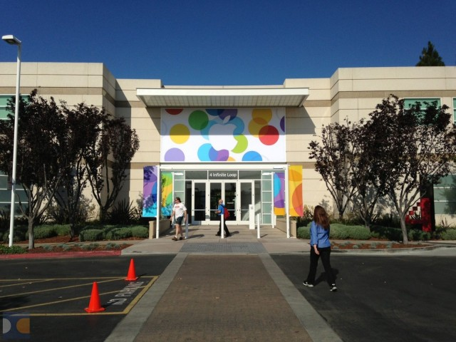 Town Hall no Campus da Apple em Cupertino