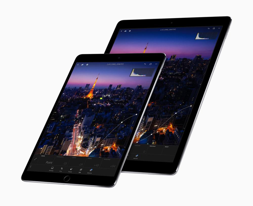 iPad Pro de 10,5'' e 12,9''