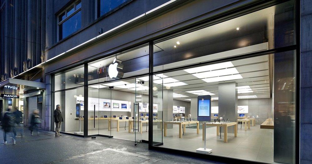 Apple Bahnhofstrasse, na Suiça