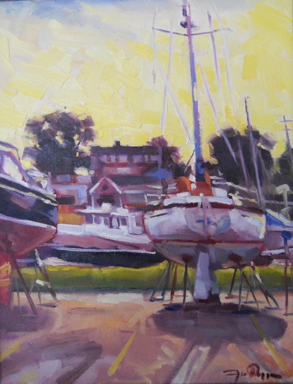 Dry Dock Sunset.JPG