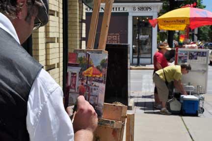 Hot Dog vendors and their portrait.jpg