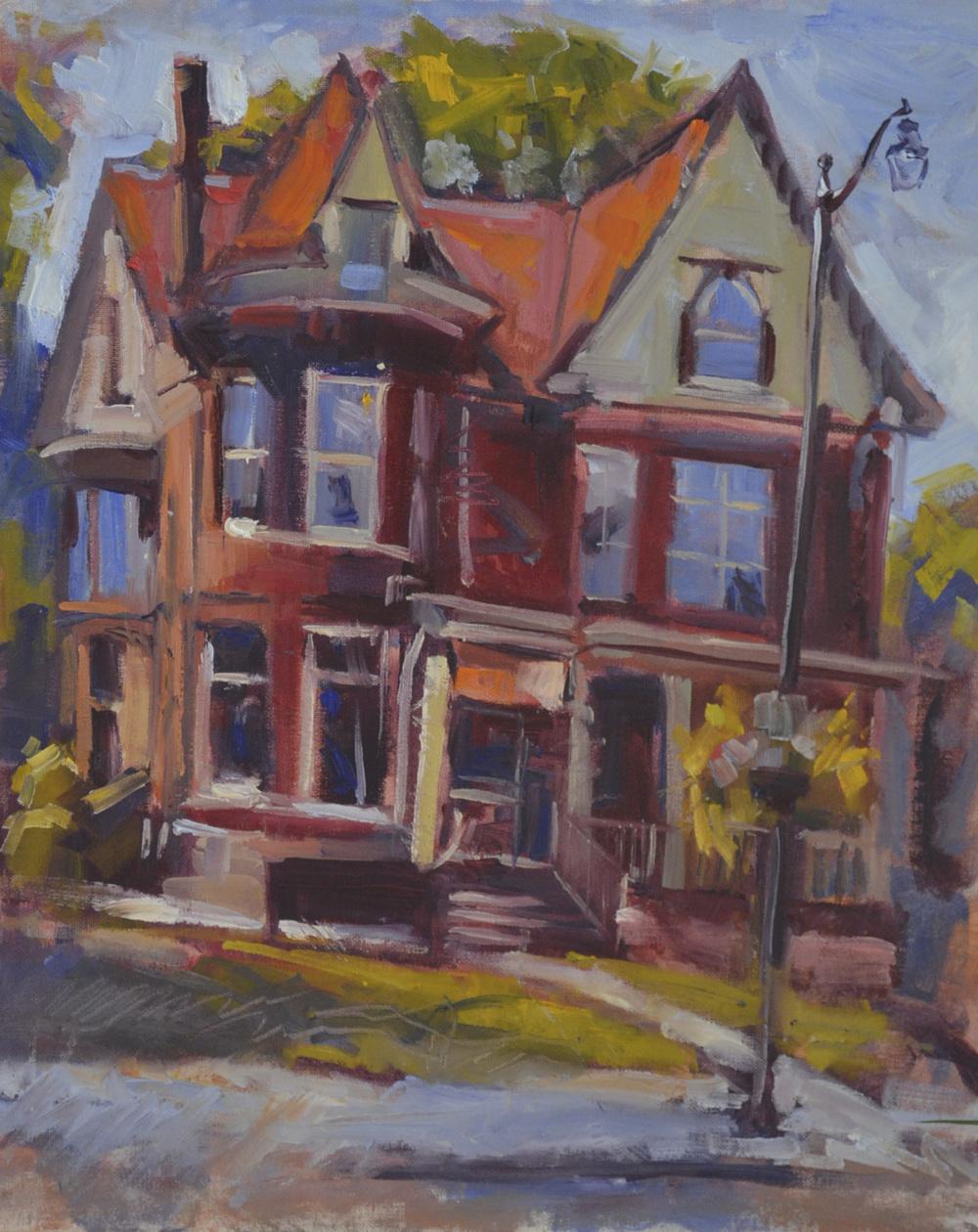 Cedarburg Arts Museum, 20x16, 2014.JPG