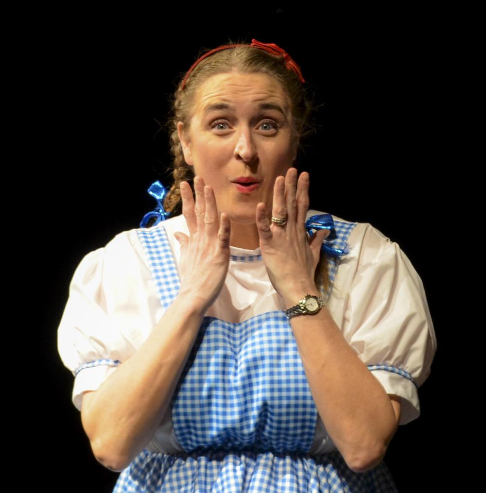 Dorothy afraid.JPG