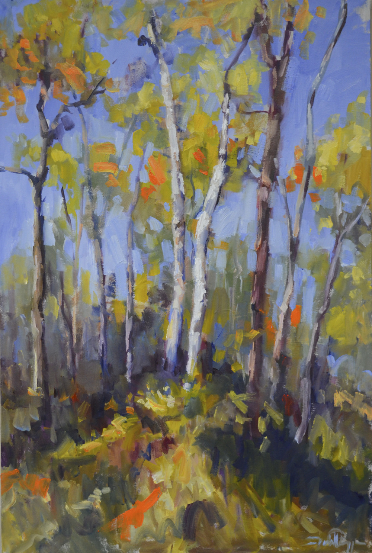 Final Flourish Fall Birches 30x24.JPG