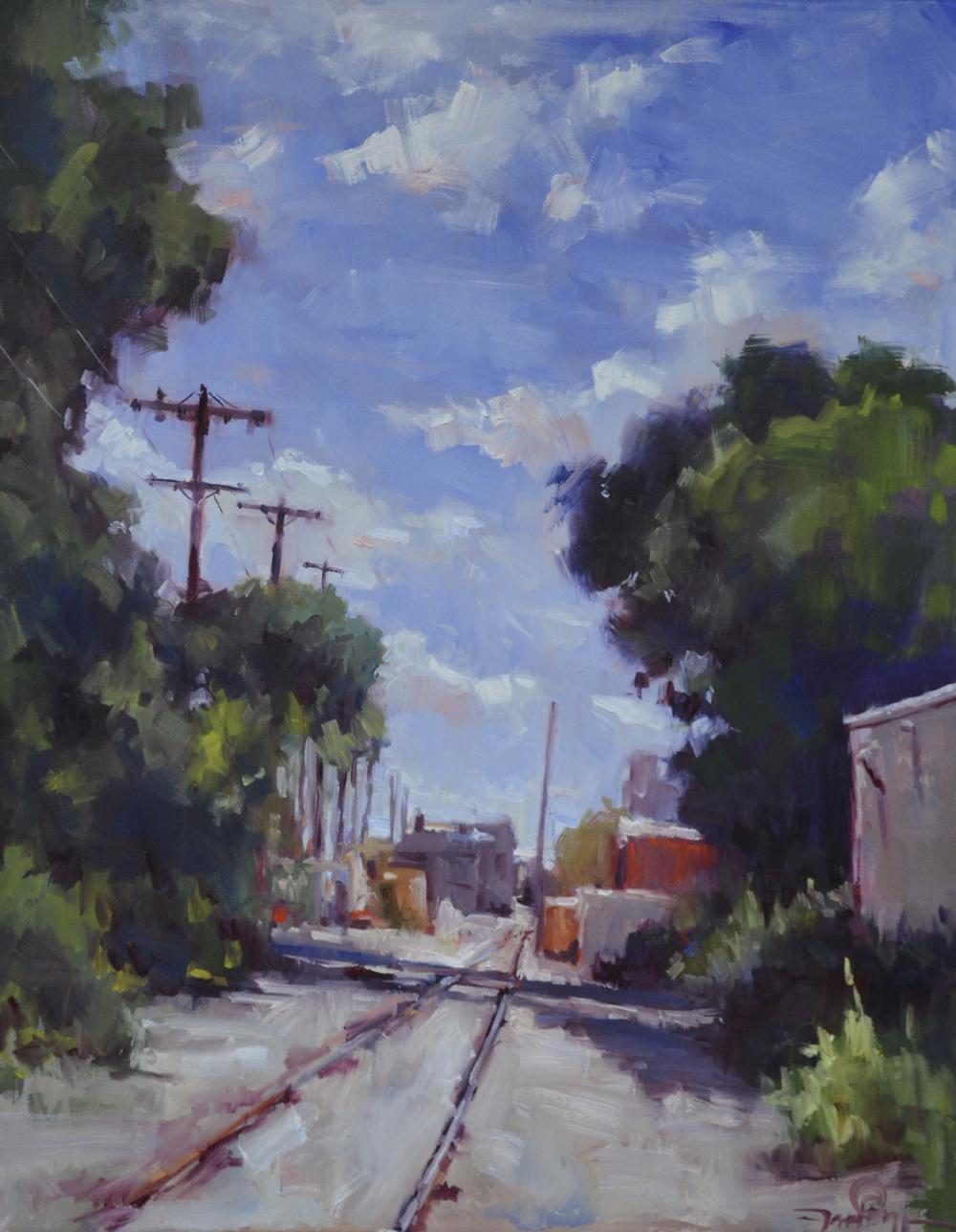 Railroad Series Hobos Dream 22x24.JPG