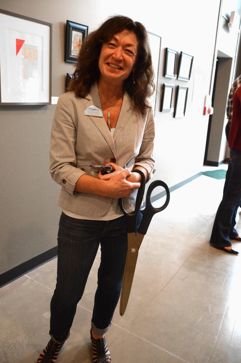 Karen and the big scissors DSC_0070.jpg