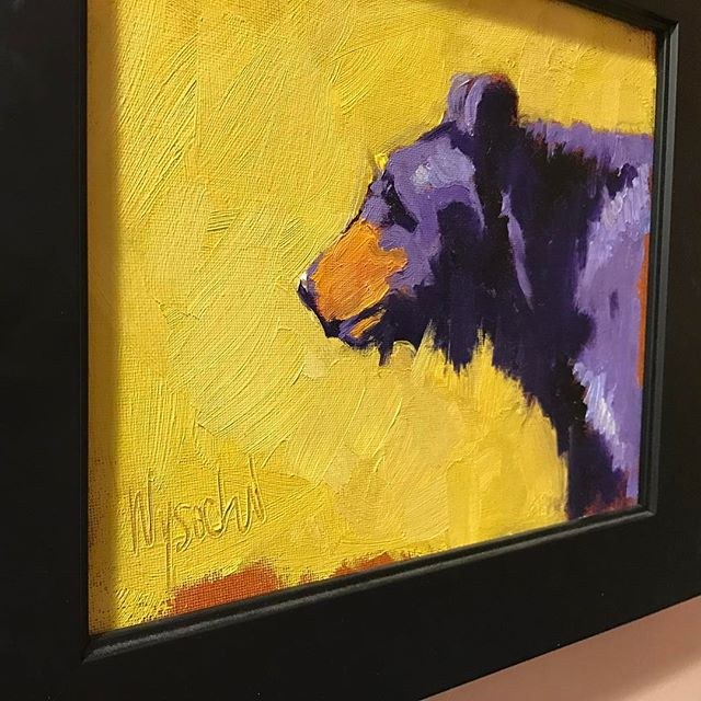 "The Wysocki exhibit has come to a close. What an honor to host the beautiful work of artist Stephen Wysocki in the Gallery. Thanks to everyone who stopped by to view the stunning collection. Delighted to add ""The Bear"" to our private collection!  Stay tuned for what's coming up next! #art #artist #gallery #artislife #supportart @priggeart1 @swysockiart"