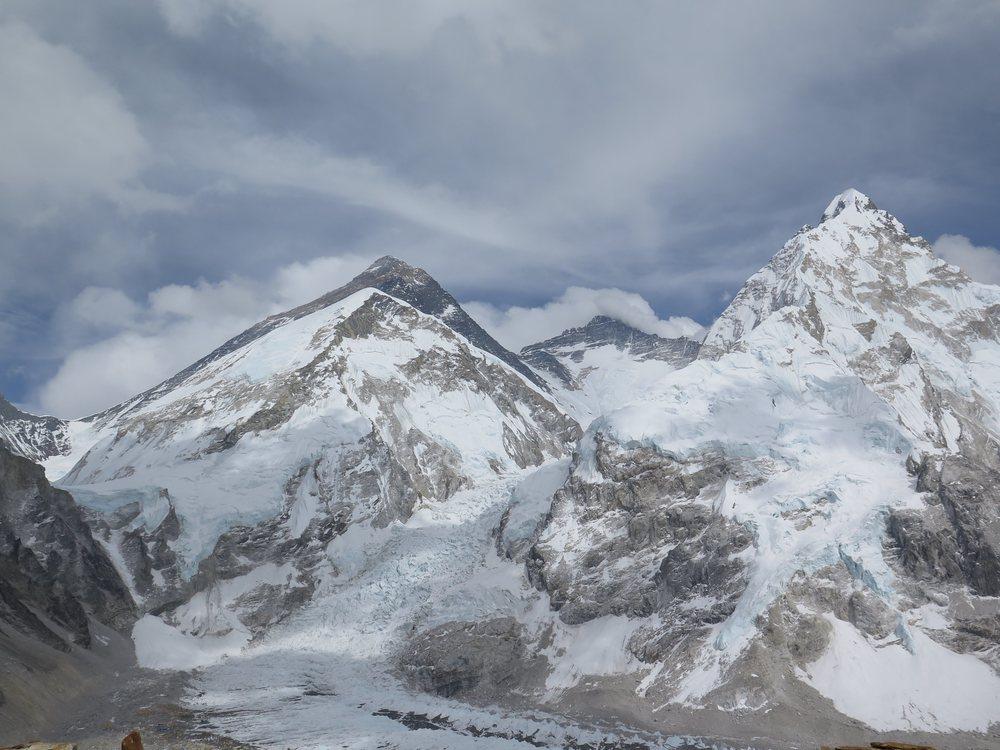 Pumori'den manzara / Views from Pumori