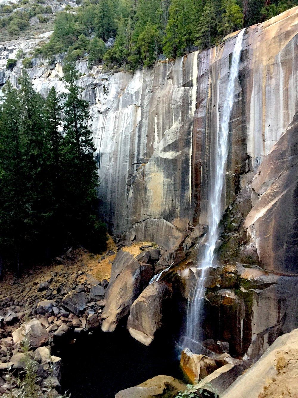 Vernal selalesi / Vernal fall