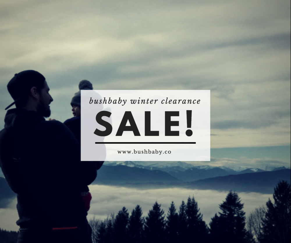 bushbaby winter gear sale