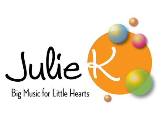 Julie K Music - It's a Happy Day with children's performer Julie K!Her award winning music captures all the fun and wonder of a child's day from sun up to lights out!