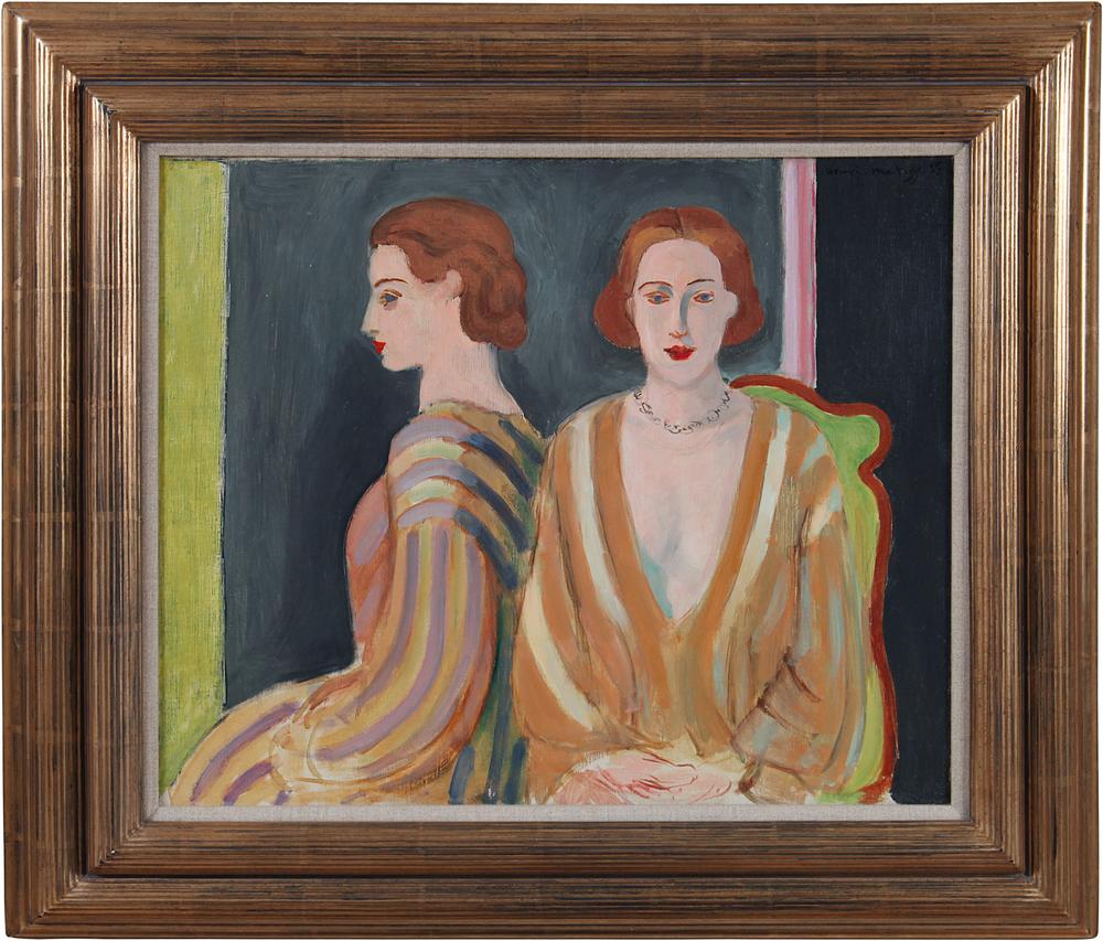 11. Matisse, Le Reflet, 1935, with frame.jpg