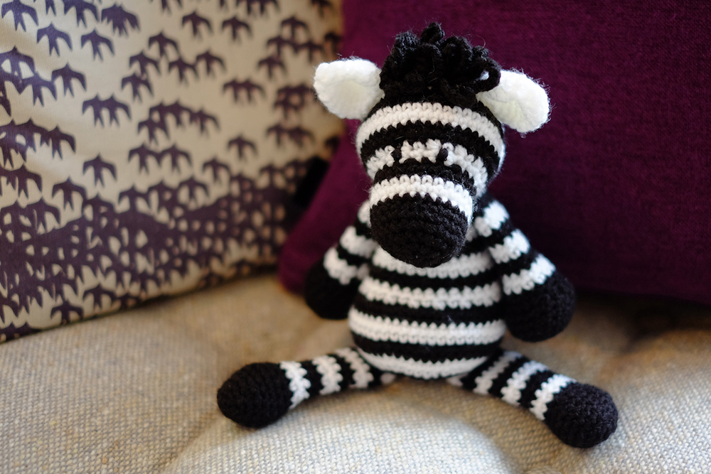 Another lovely pattern from TOFT (Edward's Menagerie)