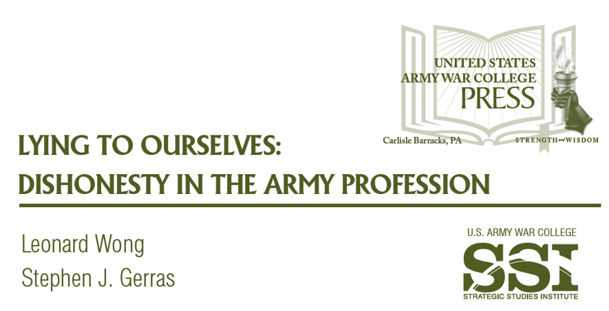 the army as a profession