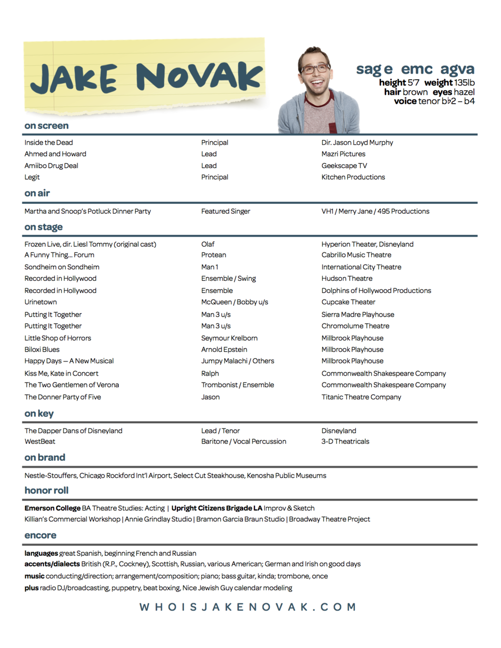 Download: Experienced Jake