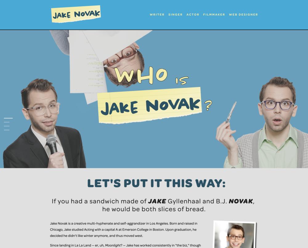 Humble person: Jake Novak