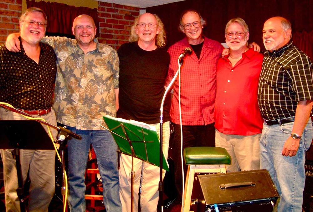 "John ""Boom Bah"" McNeill, Goon (Jim Wilson), Brian Soule, Garry Manuel, Kerry Peterson, Charlie Castilano"