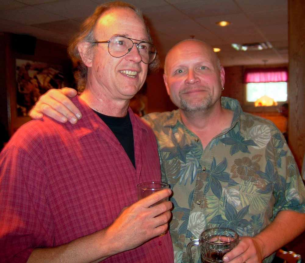 Garry & Goon - taken at the 2007 Sunup Reunion at Mickey Finn's Restaurant