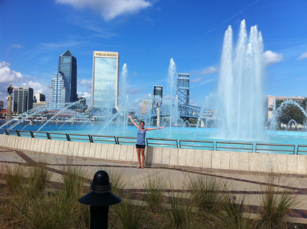 Fun Fact: Swimming in Friendship Fountain is on my bucket list
